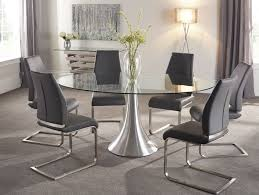 oval glass dining table. Oval Glass Dining Table Serene Cadiz Michael Oconnor Furniture Home Decor Photos