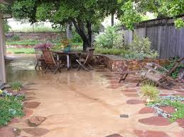 creative concrete patio ideas for patio style outdoor design with concrete patio ideas in stamped