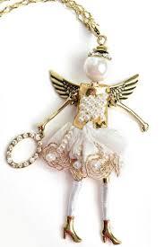 jacqueline kent angel love necklace front cropped image