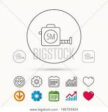 Tape Measurement Icon Vector Photo Free Trial Bigstock