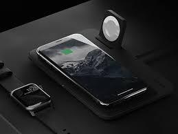 Беспроводное <b>зарядное устройство Nomad Base</b> Station Apple ...