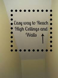 painting high ceilings. Brilliant Ceilings How To Sandpaint High Ceilings And Walls Decoratedchaosblogspotcom In Painting High Ceilings E