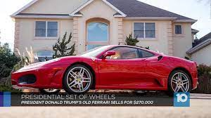 These include the gto, f40 and f50. President Trump S Old Ferrari Sells At Auction For Record 270 000 10tv Com