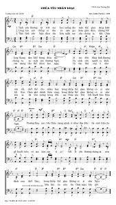 Bài hát: Chúa Yêu Nhân Loại (Chúa Chịu Thương Khó) - Hội Thánh Tin Lành  Việt Nam