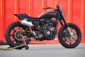 what is a street tracker bikebound