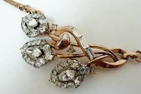vine costume jewelry marks