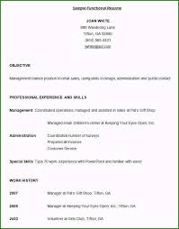 Sample Job Application Excellent Functional Resume Sample For Student For Your Job