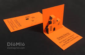 business cards interior design. It Is A Pop-up Type Business Card As Converted To 3-dimensional Structure If Folded Like Raising Above With Hands Placed On The End Of Cards Interior Design