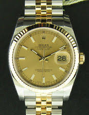 rolex datejust 116233csj wrist watch for men new unworn 18k mens rolex datejust steel gold watch 36mm 116233 box papers