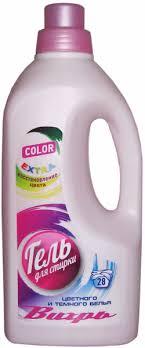 """<b>Гель для стирки цветного</b> и темного белья """"Вихрь-Color""""   Отзывы"""