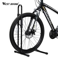Bicycle Wheel Display Stand WEST BIKING Bicycle Packing Racks Aluminum Alloy L type MTB Road 23