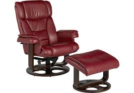 club chair and ottoman. Matteo Red Chair Ottoman Chairs In Leather And Decorations 0 Club