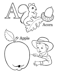 Small Picture Coloring Pages Abc Color Pages Trueluhicam Alphabet Coloring Abc