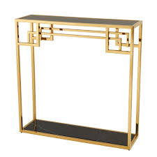 gold console table. More Views. Morris Gold Console Table