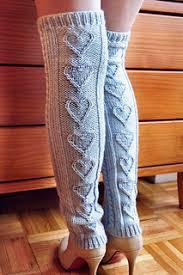 Leg Warmer Knitting Pattern Classy Ravelry Heart Warmers Heart Cable Knit Legwarmers And Mini Mits