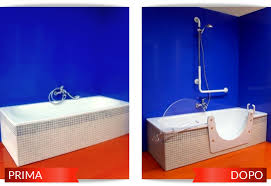 Vasche Da Bagno Con Doccia : Vasca con sportello per anziani e disabili