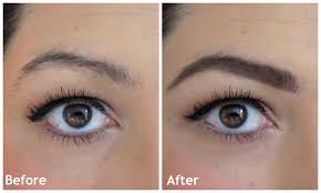 eyebrow trimmer before after. before and after eyebrow look makeup trimmer n
