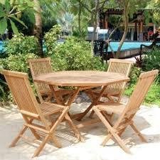 teak patio set. Vineyard 5 Piece Teak Dining Set Patio I