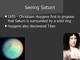 「christiaan huygens saturn」の画像検索結果