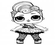 Lol Surprise Dolls Coloring Pages Free Printable