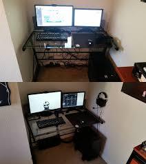 office desk cable management. BattlestationCable Management Office Desk Cable