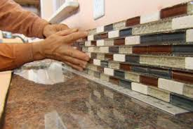 How To Do A Kitchen Backsplash How To Install Kitchen Backsplash Youtube Home