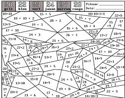 2 Dossiers De Travail Autonome Cp Ce1 Coloriages Magiques En Maths Coloriage Magique Addition Ce1 A Imprimer L