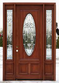 Front Doors With Side Windows Blinds Entry Replacement Residential ...