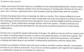 Letters Of Recommendation For Educators Teacher Recognition Rsbcmta