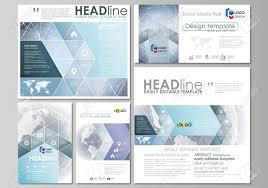 Social Media Design Templates Editable Layout Of Modern Social Media Post Design Templates Royalty