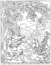 Small Picture Color Your Own Famous American Paintings Dover Publications