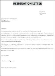 Formats For Resumes Stunning How To Write A Letter Of Resignation From Job Templates Sample