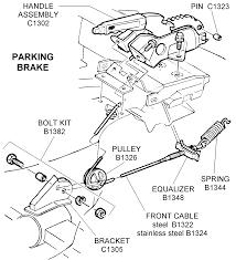 mustang wiring harness kit wirdig pin 1966 mustang emergency brake cable diagram