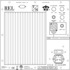 <b>сабвуфера REL T5i</b>