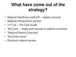 Jonas Ekström E Health Strategies And Solutions In Sweden