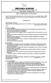 marketing and sales cv sales marketing resume sample doc 1 career pinterest