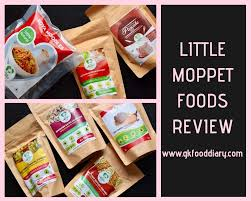 Little Moppet Baby Foods Review