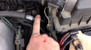 how to clean the battery ground connection on a car ford focus you