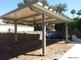 free standing patio covers metal. Freestanding Alumawood Cover Solid Patio Installed By Royal Covers Of Arizona In Mesa, Arizona. Free Standing Metal R