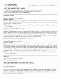 Real Estate Appraiser Resume Amazing Real Estate Broker Resume Elegant Mortgage Broker Resume