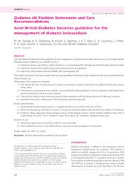 Diabetes Medication Chart 2017 Pdf Pdf Joint British Diabetes Societies Guideline For The