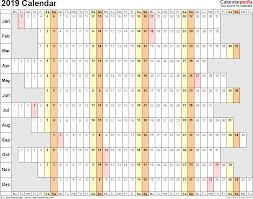 Printable Spreadsheets 2019 Calendar Download 17 Free Printable Excel Templates Xlsx