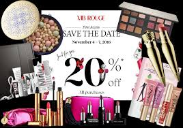 Sephora VIB Rouge 20% Off Sale Information and Shopping Guide ...