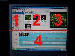 Windows Movie Maker The timeline ...