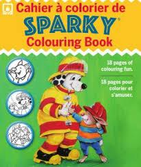 sparky the fire dog book. sparky\u0027s colouring book \u0026 crayons set sparky the fire dog