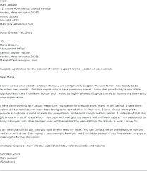 Family Support Worker Cover Letter Keralapscgov