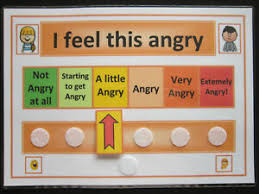 Autism Vs Adhd Chart Details About I Feel This Angry Chart Autism Adhd Asd Sen Pecs Dementia Visual Communication