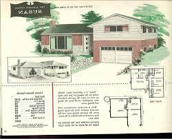split foyer house plans. Vintage House Plans 1970s Old Homes On Split Level Home Foyer D