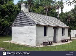 Concrete Cabin Exterior Of The Head Slaves Cabin Constructed Of Tabby Concrete