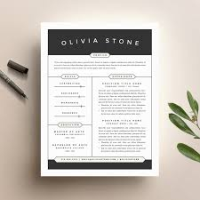 Diy Resume Template Creative Resume Template And Cover Letter Template For Word DIY 15